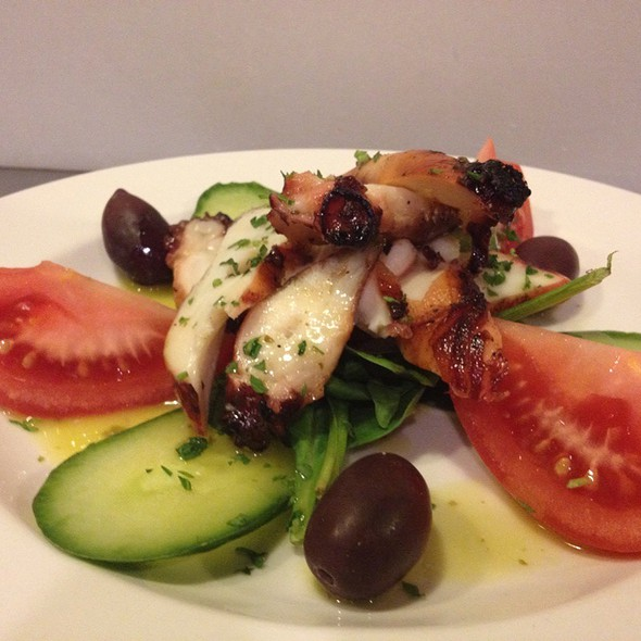 Grilled Octopus - Koutouki Taverna, Edmonton, AB