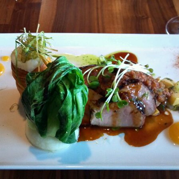 Pork Tenderloin - OAKLEYS bistro, Indianapolis, IN