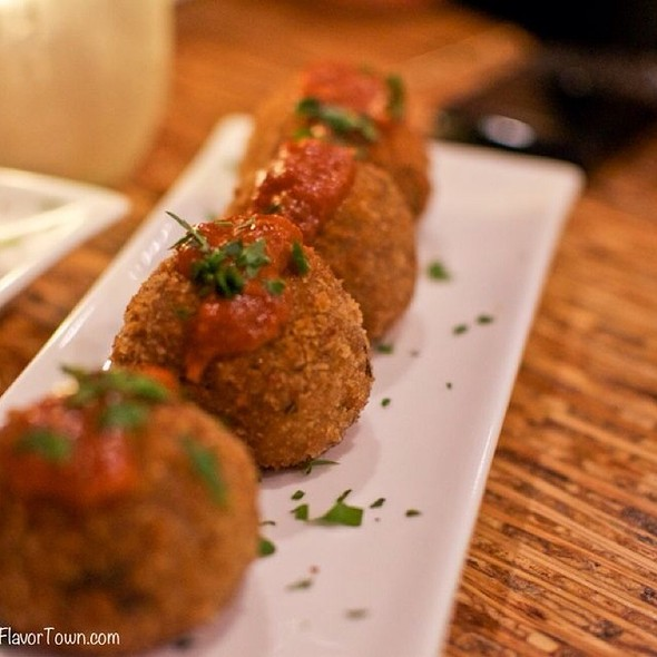 Risotto Balls - The Refinery, Vancouver, BC