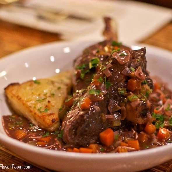 Braised Lamb Shank - The Refinery, Vancouver, BC