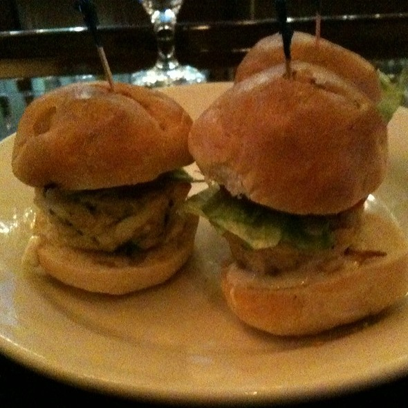 Mini Crab Cake Sliders - Morton's The Steakhouse - Toronto, Toronto, ON