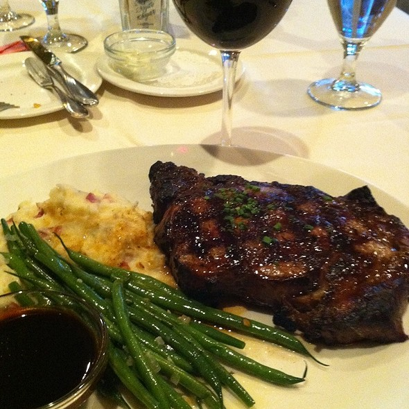 Ribeye Steak - Creed's Seafood & Steaks, King of Prussia, PA