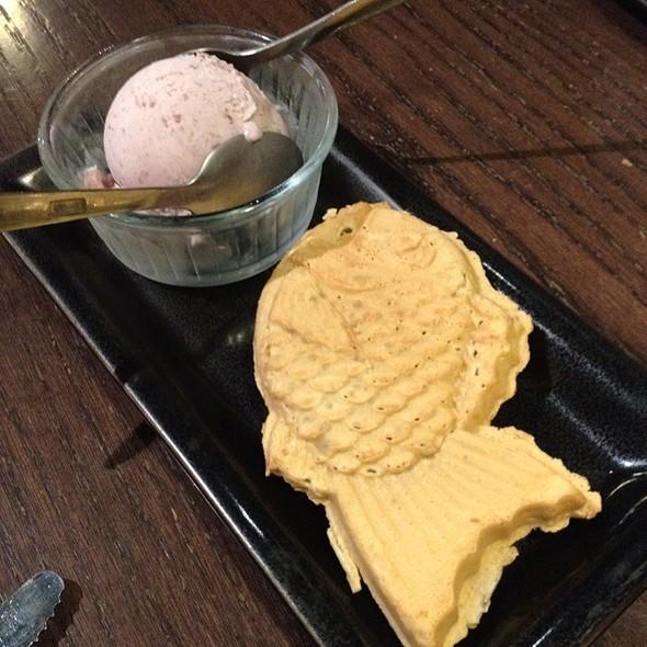 Taiyaki Pancake W/ Ice Cream - Gyu-Kaku - Vancouver, Vancouver, BC