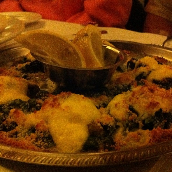 Oysters Rockefeller - Scoma's Restaurant, San Francisco, CA