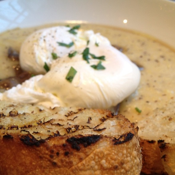 Polenta with Poached Eggs - Storico, New York, NY