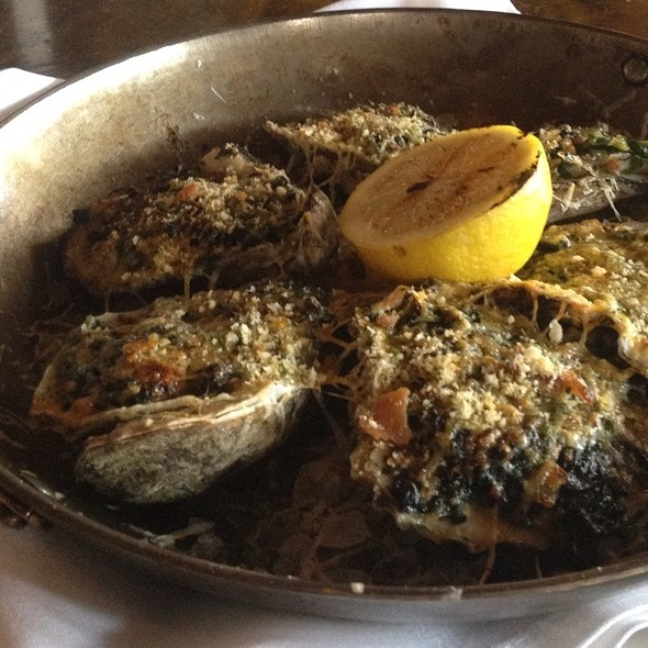 Broiled Louisiana Oysters - Restaurant Cotton, Monroe, LA
