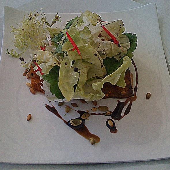 Baby Lettuce and Roasted Squash Salad - The Restaurant at Patowmack Farm, Lovettsville, VA