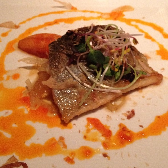 Honey Glazed Trout - Zins Restaurant, Cedar Rapids, IA