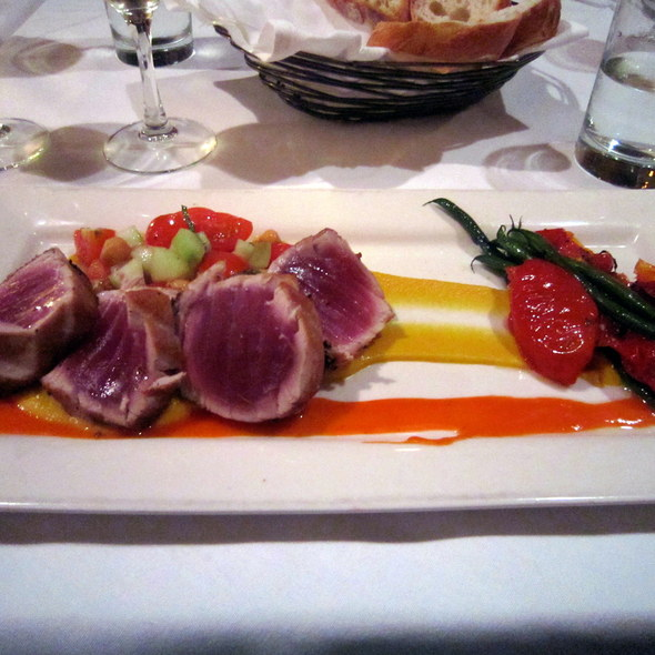 Seared Black Pepper Ahi Tuna - Persimmon, Bethesda, MD
