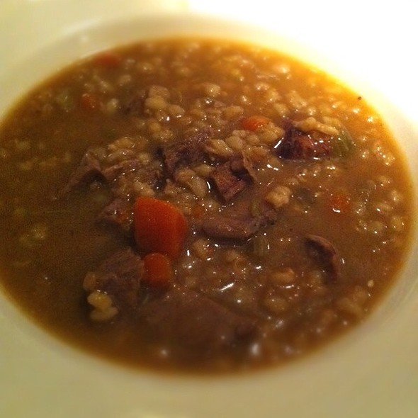 Beef Barley Soup - Andiamo Warren, Warren, MI
