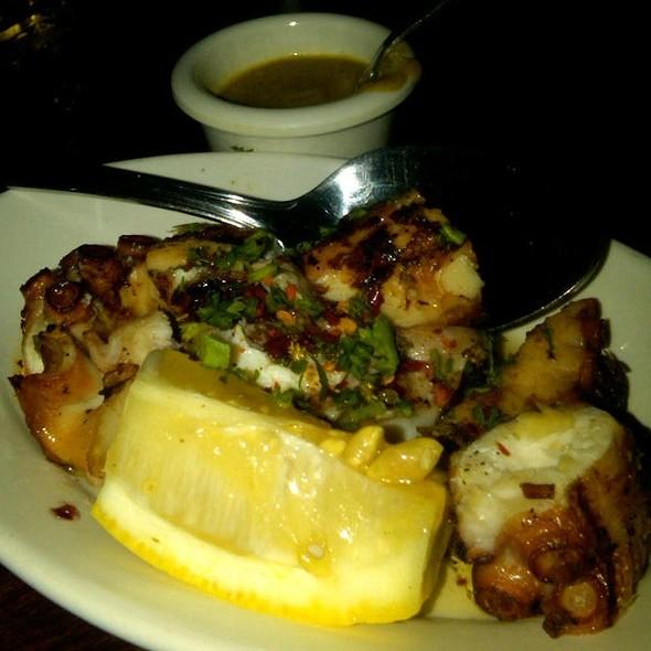 Grilled Squid - Romesco, Bonita, CA