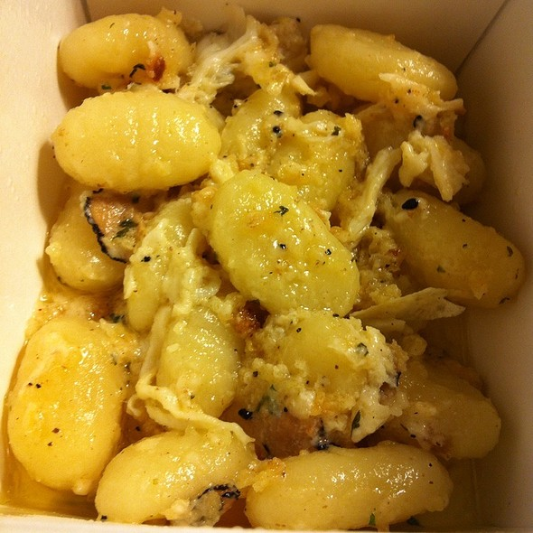 Crab And Truffle Gnocci - Mastro's Steakhouse - Thousand Oaks, Thousand Oaks, CA