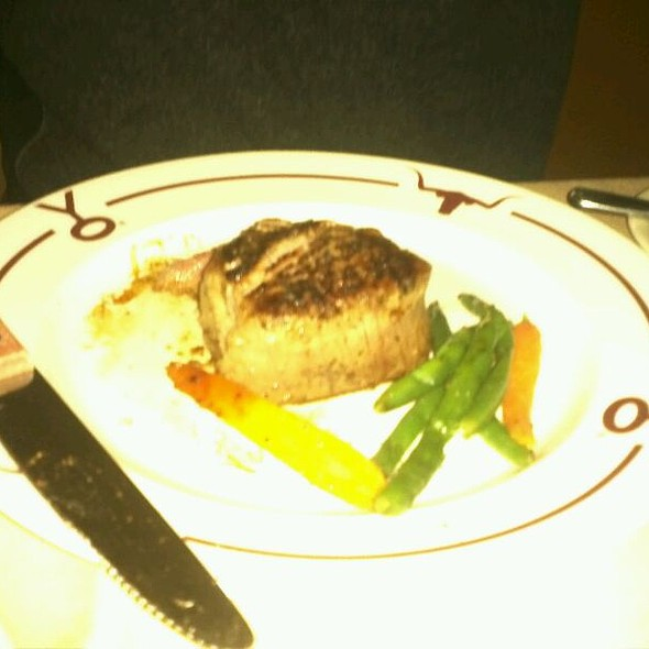 Buffalo Filet - Y.O. Ranch Steakhouse, Dallas, TX