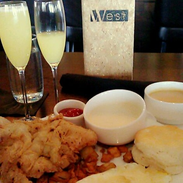 Chicken Fried Steak and RosEmary Potato,gravy, & Eggs Mimosas For Brunch  - West, Oklahoma City, OK