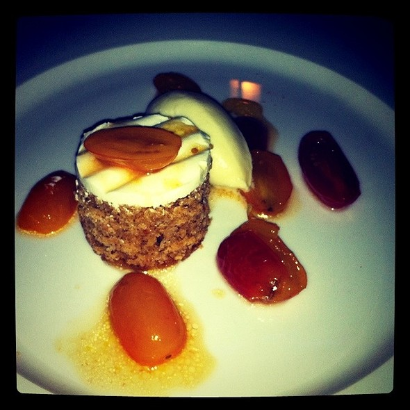 Spice Cake with Honeyed Heirloom Tomatoes - J.Devoti Trattoria, St. Louis, MO