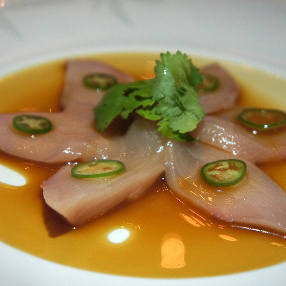 Hamachi (Yellowtail) Sashimi With Jalapeno - Nobu Honolulu, Honolulu, HI