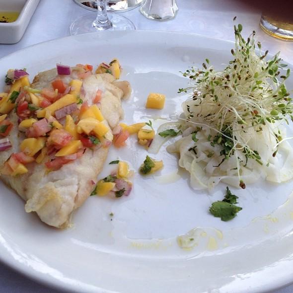 Grouper & Mango Salsa & Shaved Fennel Salad - Bice - Naples, Naples, FL