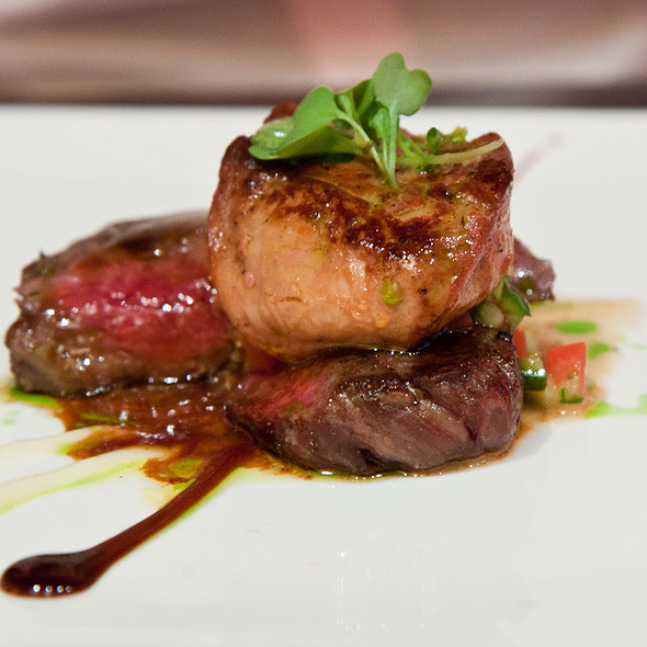 tajima f1 ribeye - 5A5 Steak Lounge, San Francisco, CA