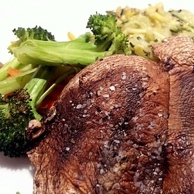 Grilled Portabello - Fleming's Steakhouse - La Jolla, San Diego, CA