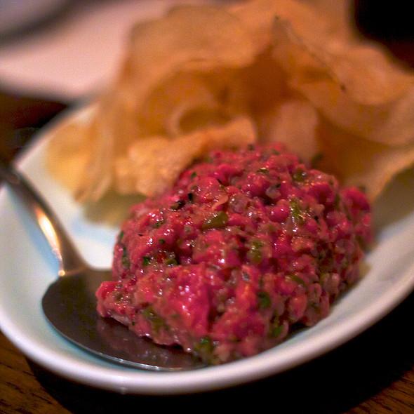 steak tartare - Brindle Room, New York, NY