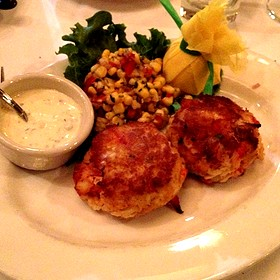 Crab and Lobster Cakes - The Capital Grille - Chestnut Hill, Chestnut Hill, MA