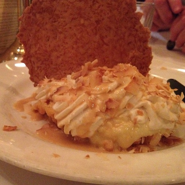 Coconut Cream Pie - The Capital Grille - Chestnut Hill, Chestnut Hill, MA
