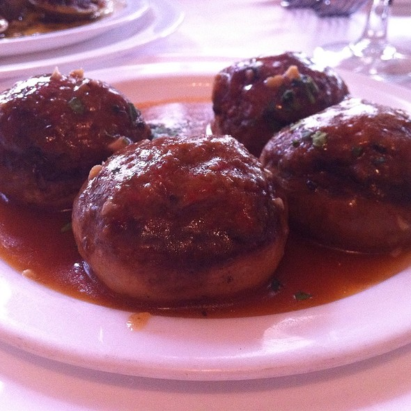 Stuffed Mushrooms - Da Tommaso NYC, New York, NY
