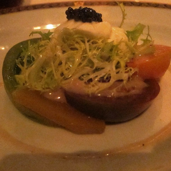 Heirloom Tomatos - Andre's at the Monte Carlo Resort & Casino, Las Vegas