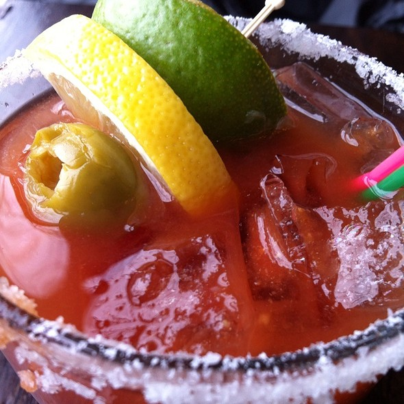Bloody Mary - Julia's on Broadway, Seattle, WA