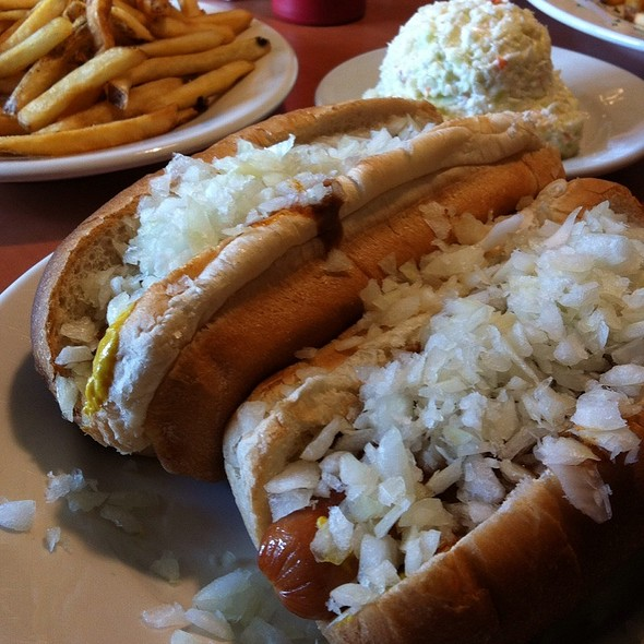 Coney Island Hot Dog - Harry's Main Street Grille, Westminster, MD