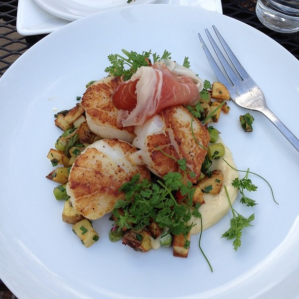 Pan-seared Scallops - ZZest Cafe & Bar, Rochester, MN