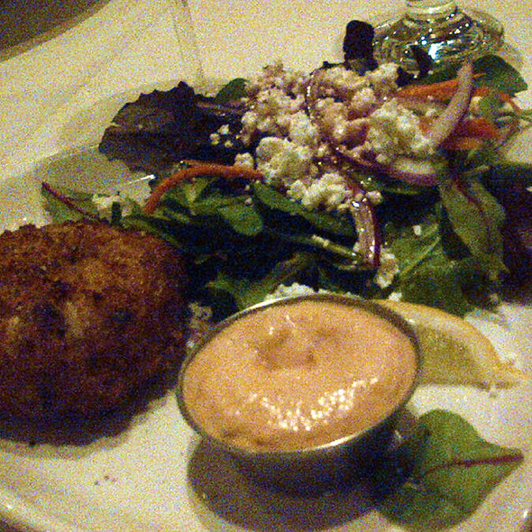 crab cake - Trattoria Timone, Oakville, ON