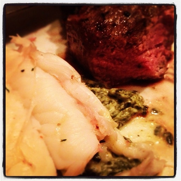 Surf N Turf  - Fleming's Steakhouse - Naples, Naples, FL