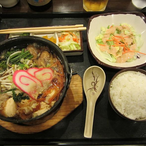 Maru Hi Restaurant Menu