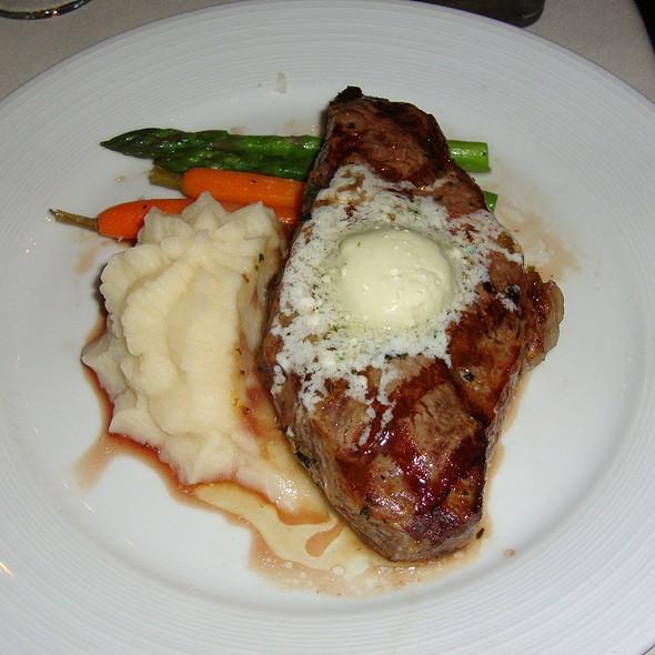 Buttery Steak & Mashed Potatoes - Orange Hill Restaurant, Orange, CA