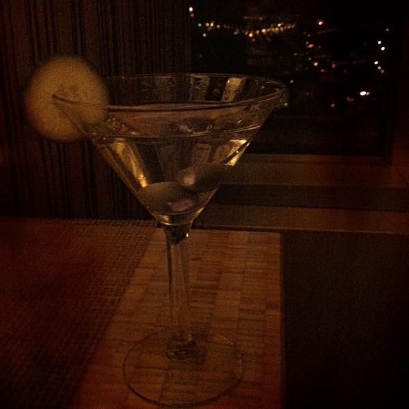Gin Martini Made With Hendricks - Cygnus 27, Grand Rapids, MI