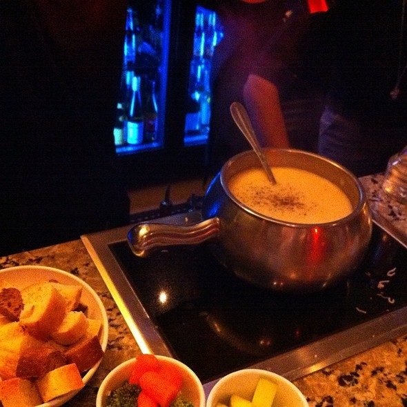 Traditional Swiss Cheese Fondue - The Melting Pot - Gaslamp Quarter, San Diego, CA