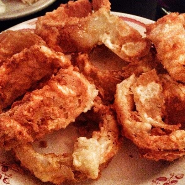 Onion Rings - Club Lago Restaurant, Chicago, IL