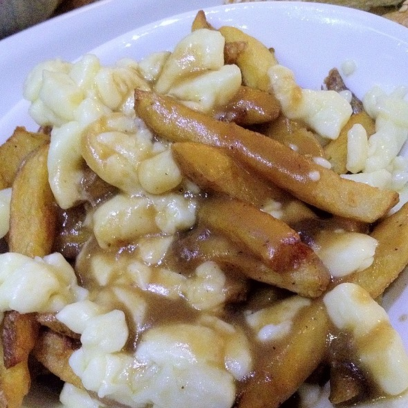 Poutine With Duck Gravy - The Burger Cellar, Toronto, ON