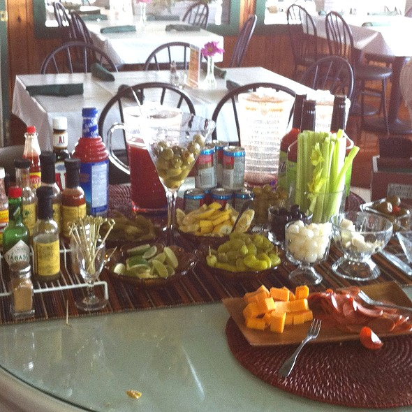 Bloody Mary Bar - Morgan Creek Grill, Isle Of Palms, SC