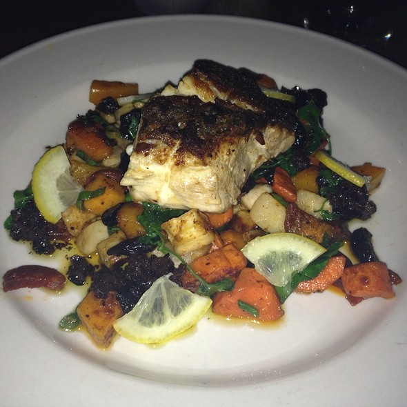 Rockfish With Chorizo And Roasted Root Vegetables - Clyde's of Reston, Reston, VA
