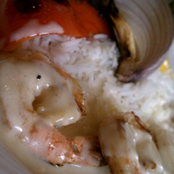 Grilled Shrimp & Vegetables  - American Tap Room - Bethesda, Bethesda, MD