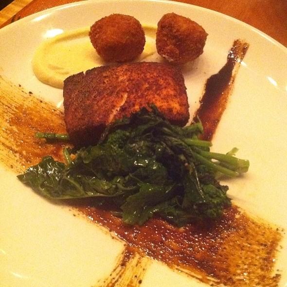 Salmon Dinner - Jackie's Restaurant, Silver Spring, MD