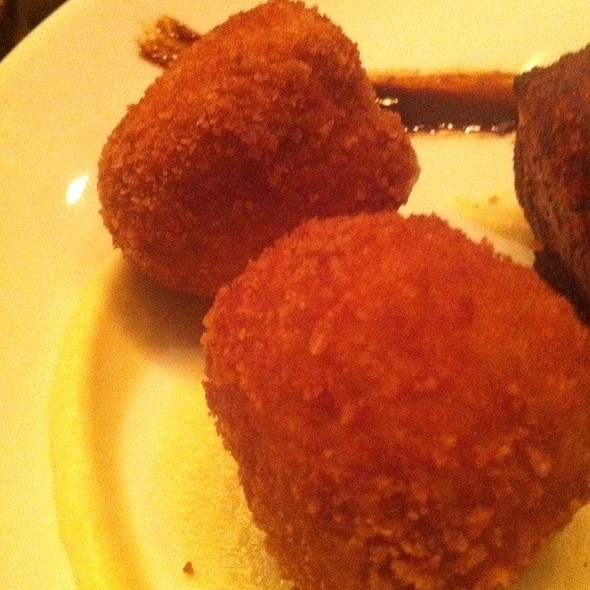 Risotto Balls - Jackie's Restaurant, Silver Spring, MD
