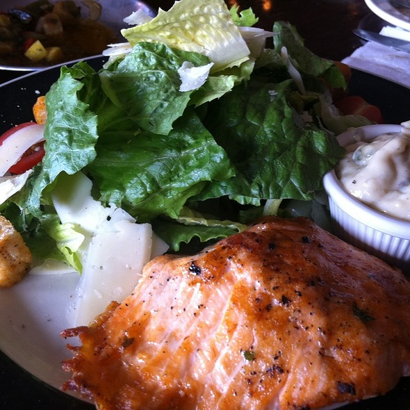 Ceasar Salad With Grilled Salmon - Spasso Italian Grill - Philadelphia, Philadelphia, PA