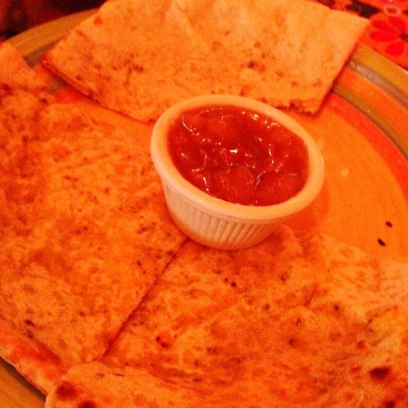 Cheese Naan - All India Cafe, Los Angeles, CA
