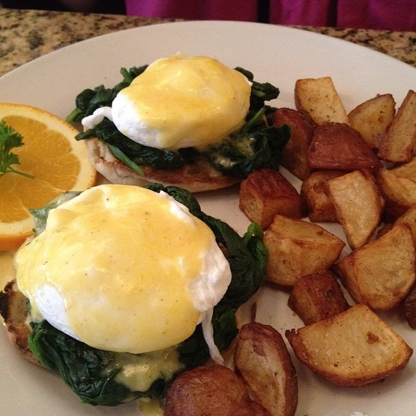 Florentine Eggs Benedict - Sullivan Bistro, New York, NY