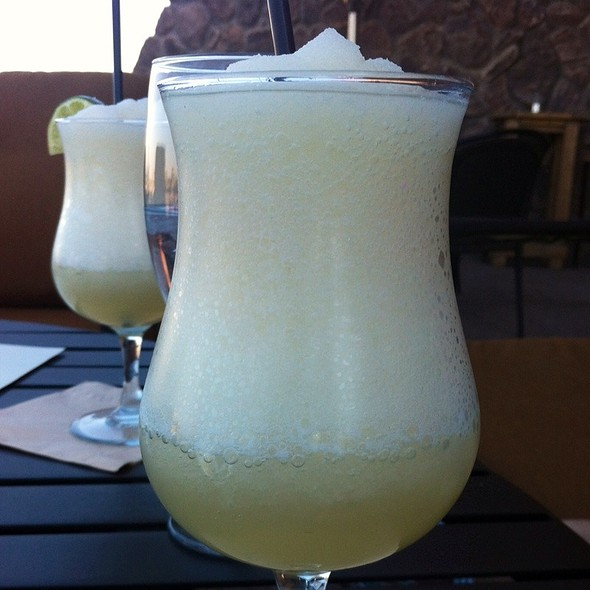 Blended Margarita - Top of the Rock Restaurant at the Marriott Buttes Resort, Tempe, AZ