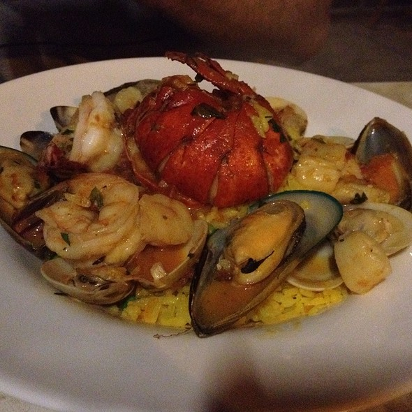 Seafood Paella - Amelia's Bistro - New Jersey, Jersey City, NJ
