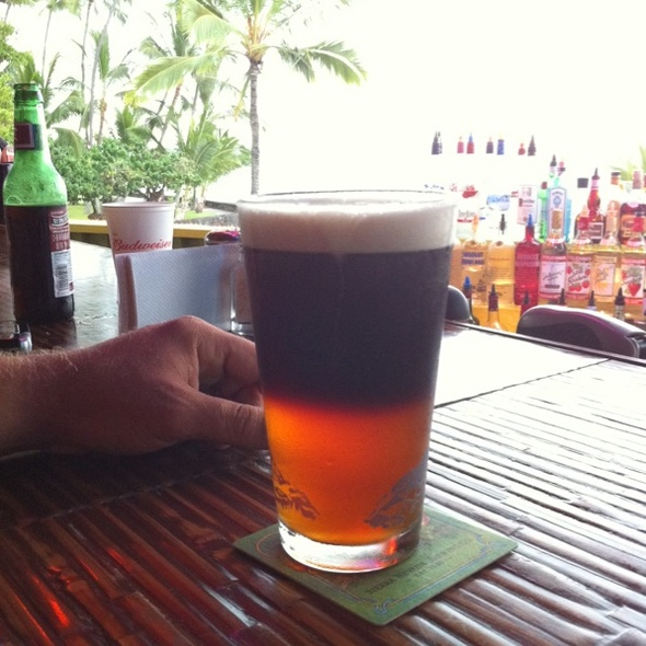 Black and Tan - Honu's on the Beach Restaurant, Kailua-Kona, HI